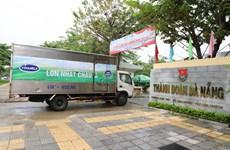 Vinamilk ủng hộ 170.000 sản phẩm dinh dưỡng cho người dân miền Trung