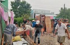 Mưa lớn kèm dông, lốc gây nhiều thiệt hại tại tỉnh Sóc Trăng