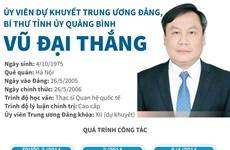 [Infographics] Một số thông tin về tân Bí thư Tỉnh ủy Quảng Bình