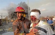 Liban: Tình hình y tế nghiêm trọng sau vụ nổ kinh hoàng tại Beirut