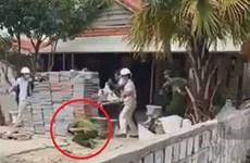 Đà Nẵng: Chủ công trình xây trái phép chống đối, ném đá vào công an