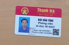 Hà Nội: Mạo danh phóng viên để xin bỏ qua lỗi vi phạm giao thông