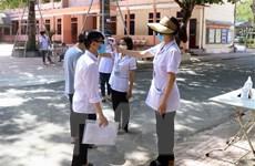 352 thí sinh ở Quảng Ngãi dừng thi do liên quan đến bệnh nhân COVID-19