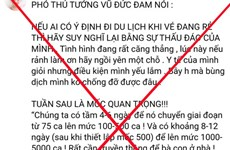 Xử phạt các trường hợp thông tin sai sự thật trên mạng xã hội