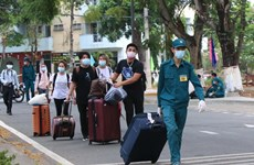Hơn 170 công dân về từ châu Âu hoàn thành cách ly tại Thái Bình