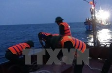 Đưa ngư dân bị ngạt nước, nguy kịch tính mạng vào bờ cấp cứu