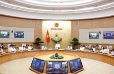 Nghị quyết họp Chính phủ: Không để đứt gãy hoạt động kinh tế-xã hội
