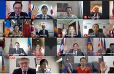 Ủy ban Điều phối Kết nối ASEAN họp tham vấn với các đối tác
