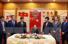Thủ tướng: Ngành ngoại giao cần làm tốt 5 nhiệm vụ chính trị