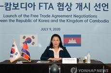 Hàn Quốc và Campuchia tiến hành vòng 2 cuộc đàm phán FTA