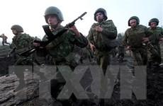 Quân đội Belarus tổ chức diễn tập chiến thuật tại miền Tây