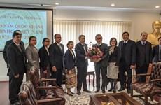 Đoàn sứ quán Lào tại Australia chúc mừng 75 năm Quốc khánh Việt Nam