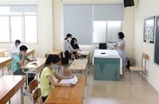 Kỳ thi tốt nghiệp đợt 2: Hơn 98,4% thí sinh đến làm thủ tục dự thi