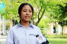 Nỗ lực vượt khó của nữ thủ khoa khối C đất học Nam Định