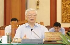 Tổng Bí thư, Chủ tịch nước muốn TP.HCM là mẫu mực về chuẩn bị đại hội