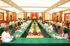 Bộ Chính trị làm việc về đại hội với 10 đảng bộ trực thuộc Trung ương