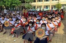 Học sinh Thành phố Hồ Chí Minh rộn ràng bước vào năm học mới