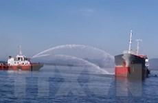 Quảng Ngãi: Cháy tàu chở dầu tại cảng Dung Quất, một người mất tích