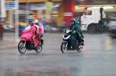 Khu vực Bắc Bộ mưa to, người dân đề phòng thời tiết nguy hiểm