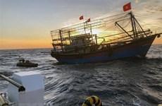 Tàu cá Quảng Ngãi bị đâm chìm, 25 ngư dân được cứu nạn kịp thời