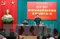 Đại hội Đảng bộ Quân đội lần thứ XI sẽ diễn ra vào cuối tháng Chín