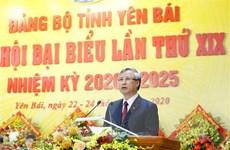 Ông Trần Quốc Vượng dự khai mạc Đại hội Đảng bộ tỉnh Yên Bái