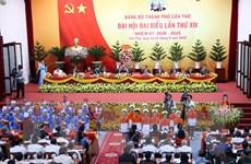 [Photo] Khai mạc Đại hội Đảng bộ thành phố Cần Thơ lần thứ XIV