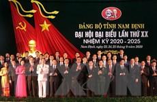 Đại hội Đảng bộ tỉnh Nam Định: Đưa Nam Định thành tỉnh phát triển khá