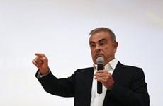 Cựu Chủ tịch tập đoàn Nissan lần đầu xuất hiện công khai tại Liban
