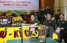 Đảng bộ Quân đội bầu 43 đại biểu dự Đại hội Đảng toàn quốc