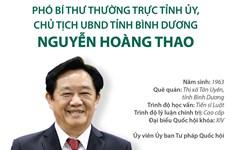 Phó Bí thư Thường trực, Chủ tịch tỉnh Bình Dương Nguyễn Hoàng Thao