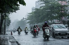 Các khu vực trên cả nước đều có mưa và dông trong tuần tới