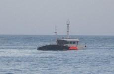 Cứu hộ 13 ngư dân Bình Định gặp tai nạn chìm tàu trên biển