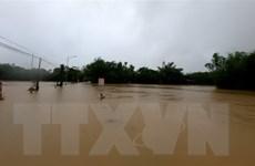 Thủy điện Hương Điền ở Thừa Thiên-Huế xả lũ lưu lượng lớn