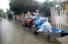 Tình trạng ngập lụt ở miền Trung còn kéo dài trong những ngày tới