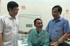 Quảng Trị: Sức khỏe của 8 người trên tàu Vietship 01 đã ổn định
