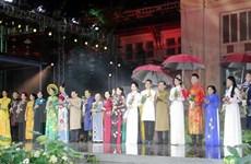 Lễ hội 'Tôi yêu áo dài Việt Nam' tại Thành phố Hồ Chí Minh