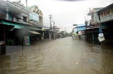 Hình ảnh mưa lớn gây ngập sâu ở miền Trung trong mấy ngày qua