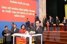 Hà Nội dành 7 tỷ đồng ủng hộ 5 tỉnh miền Trung bị thiệt hại vì mưa lũ