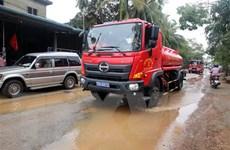 Thừa Thiên-Huế: Toàn bộ 14 công nhân của Thủy điện Alin B2 đều an toàn