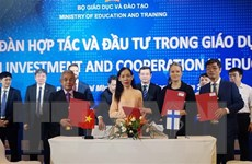 Việt Nam luôn chú trọng đẩy mạnh hợp tác quốc tế về giáo dục