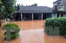 [Photo] Quảng Trị lại mưa lớn, lũ lên nhanh gây ngập lụt diện rộng