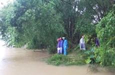 Mưa lũ gây nhiều thiệt hại tại Nghệ An, một số tuyến đường bị ngập