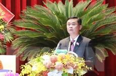 Ông Thái Thanh Quý tái đắc cử Bí thư Tỉnh ủy Nghệ An khóa XIX