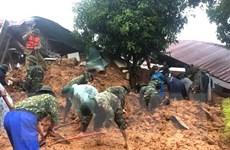 Diễn biến quá trình tìm 22 cán bộ, chiến sỹ bị vùi lấp ở Quảng Trị