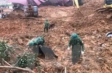 40 giờ nỗ lực tìm kiếm 22 chiến sỹ bị vùi lấp ở Quảng Trị