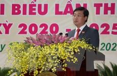 Ông Lê Quốc Phong được bầu giữ chức Bí thư Tỉnh ủy Đồng Tháp