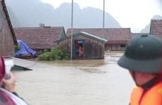 Nhà có gác cao giúp người dân hạ lưu sông Thu Bồn bình an trong mùa lũ