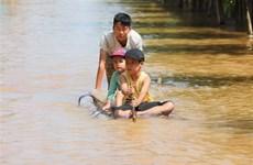 Lãnh đạo Kazakhstan và Palestine thăm hỏi về lũ lụt ở miền Trung