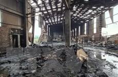 Bắc Ninh: Nổ lò hơi trong xưởng sản xuất giấy, hai người thương vong